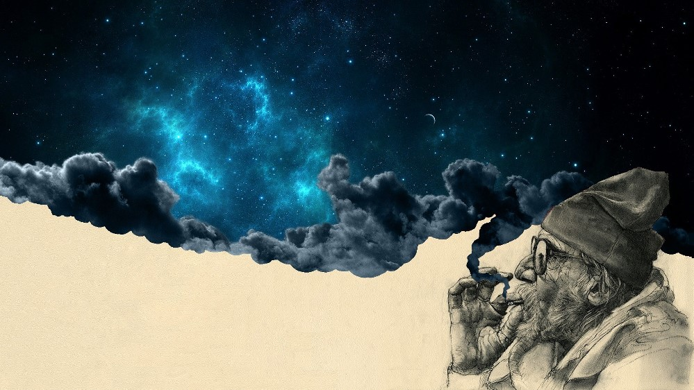 surreal-space-old-man-stars-clouds-1920x1080