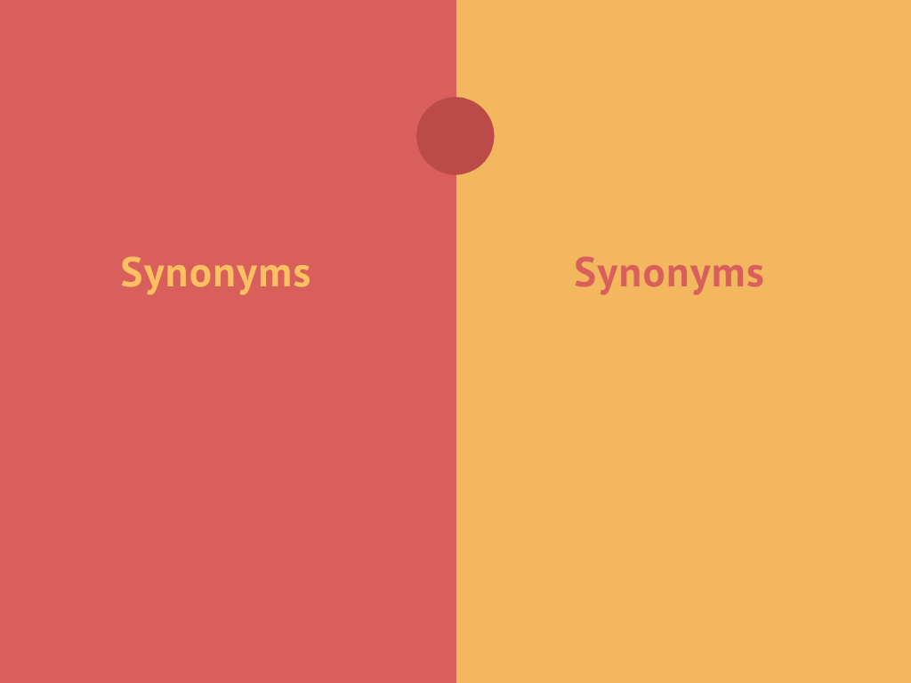 Red and Yellow T Chart